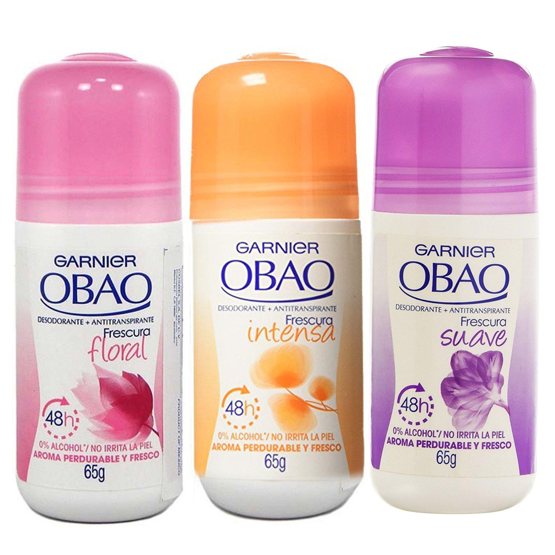 Obao Assorted Deodorant for Women - Pack of 3