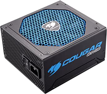 Cougar CMD 80 Plus Bronze Digital Power Supply - 600W - Supports up to 2 Extra Fans - 3 Year Warranty - 50 to60Hz - 100 to 240Vac