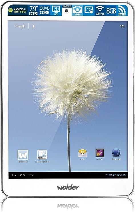 Wolder miTab Legend - Tablet de 7.9: Amazon.es: Informática