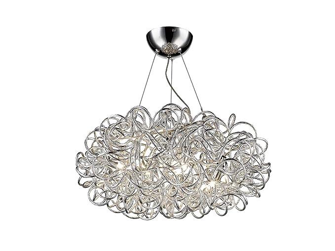 Lámpara de techo ARBUSTOS con 5 ledes regulables, metal ...