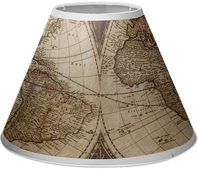 Amazon.com: Vintage World Map Empire lámpara de techo: Home ...