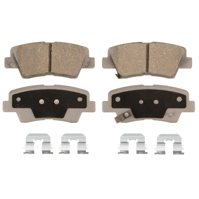 Disc Brake Pad Set-ThermoQuiet Disc Brake Pad Rear Wagner PD698