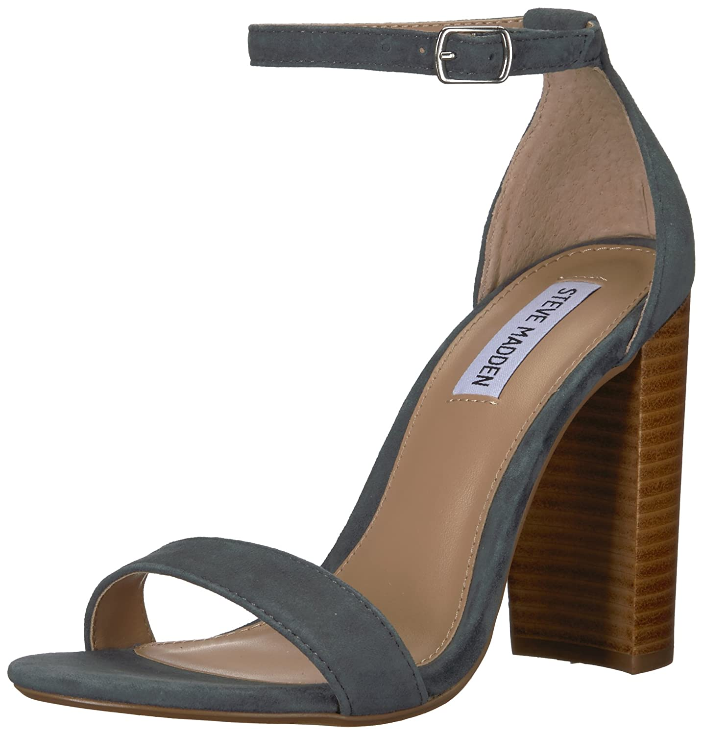 Steve Madden Women's Carrson Dress Sandal B07C8RK57T 9 B(M) US|Blue/Multi
