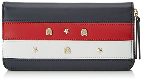 Tommy Hilfiger - Corp Stars & Mascot Za Wallet, Carteras Mujer, Red (Corporate