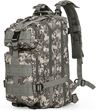 30L Army Backpack Outdoor Bag Hiking Trekking Camping Military Rucksack ACB#