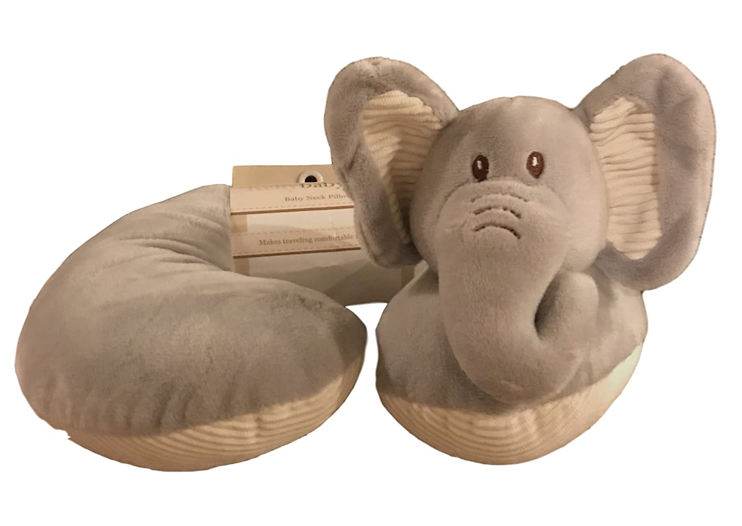 Elephant Baby Head and Neck Support Pillow for traveling and comfort by Kellybaby Kellytoys