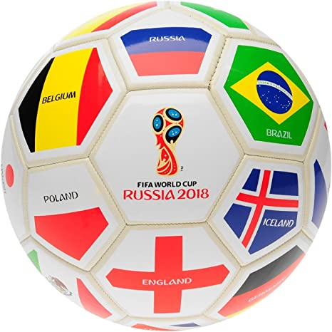 FIFA World Cup 2018 - Balón de fútbol, Color Blanco, Color Blanco ...
