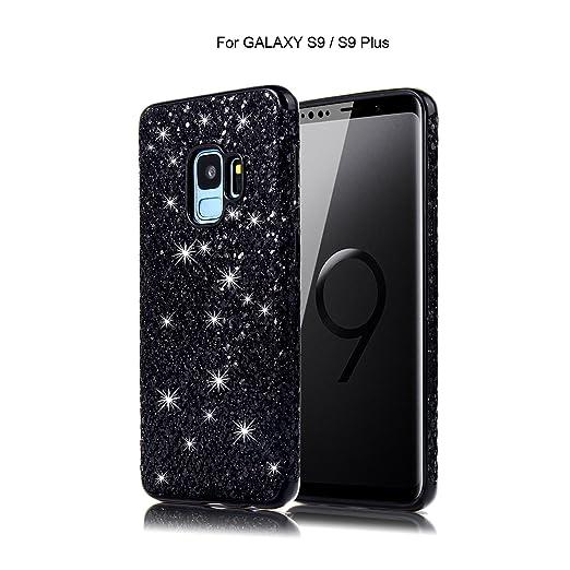 Samsung Galaxy S9/S9 Plus Funda Bling Grado protección Trasparente Silicona TPU Full Body Protector