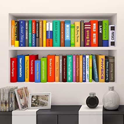 Amazon.com: Witkey 3D Book Bookshelf Funny Living Room Kids Bedroom on ideas to decorate your bedroom, building shelves in bedroom, decorative shelf bedroom, shelf for girls bedroom, display shelves in bedroom, corner wall shelves modern bedroom, corner shelf for bedroom, unique bookshelves for teenagers bedroom, built in bookshelves in bedroom, bathroom shelves in bedroom, built in shelves in master bedroom, clothing shelves in bedroom, bay window in bedroom, storage shelves in bedroom, decorating shelves for fall, metal shelves in bedroom, coffee bar in bedroom, shelf decor bedroom,