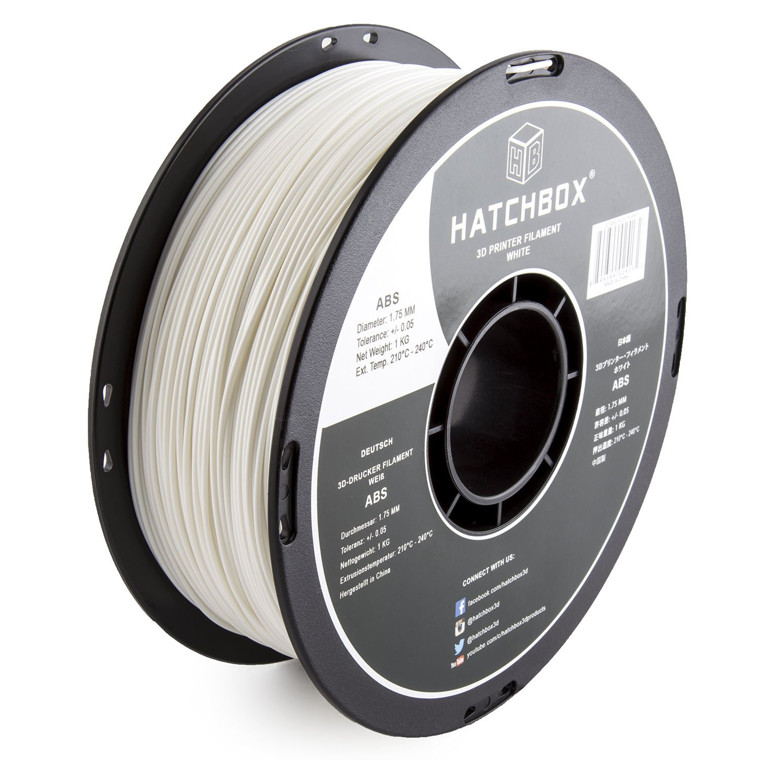 Hatchbox ABS Filament 1.75mm