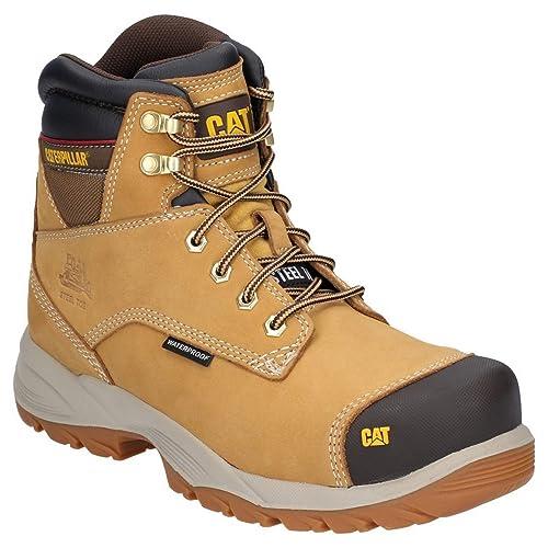 37b6d9b638c Caterpillar Mens Spiro Lace Up Waterproof Safety Boot: Amazon.co.uk ...