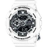 Casio G-Shock Black Dial Resin Quartz Ladies Watch GMAS110CW-7A1