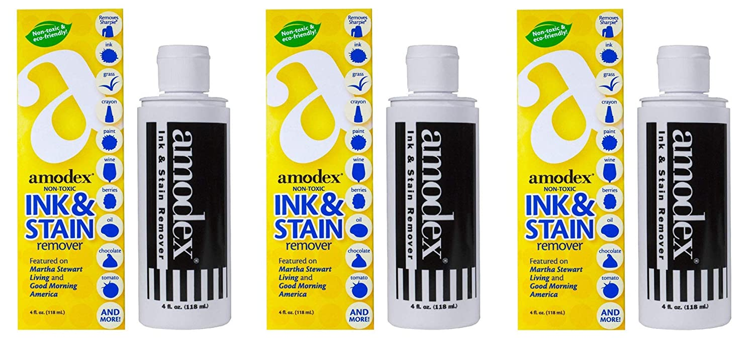 Amodex Ink and Stain Remover, 4 Ounce (2-(Pack))