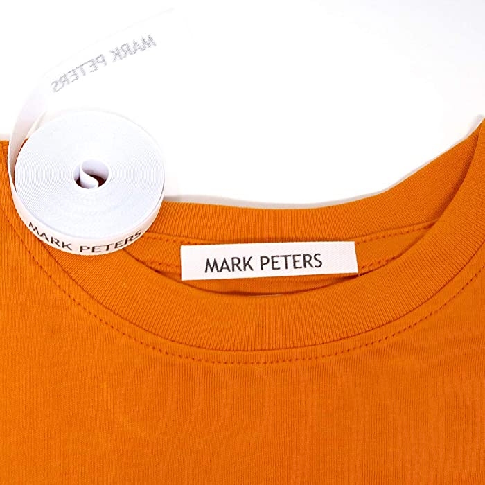 100 Personalized Iron-on Fabric Labels to Mark Your Clothes. Gentle with Your Kids Skin, for Children's School Uniform/Clothes/Clothing Labels for Kids, Baby and Children.