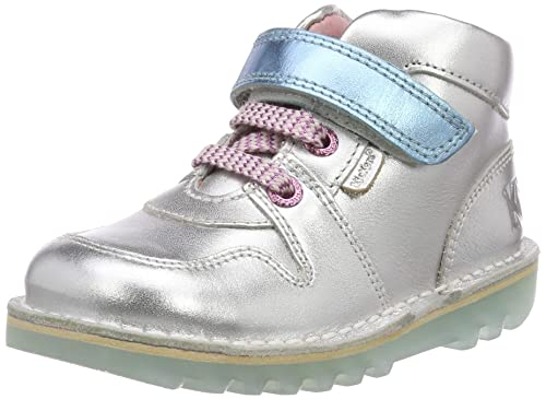 e95b6588a4e5b Kickers Baby Girls'' Kick Glow Boots: Amazon.co.uk: Shoes & Bags