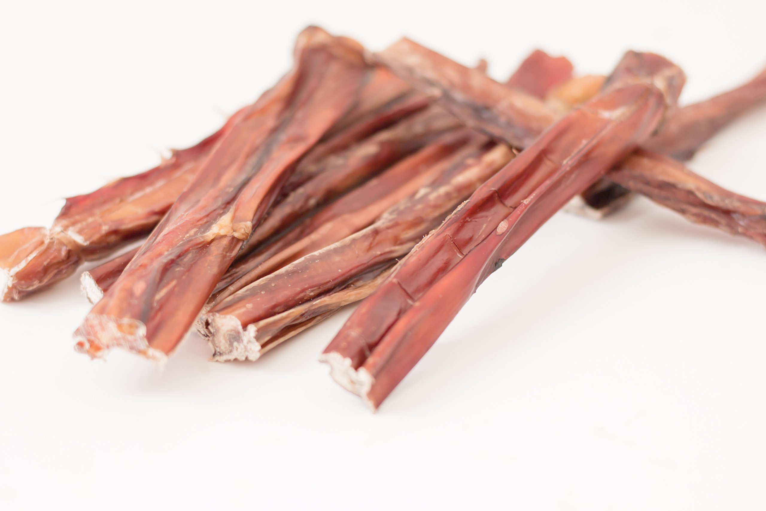 Made & SOURCED in The USA 6 inch (25 Pack Thin) All Natural Bully Sticks for Small Breeds & Light Chewers