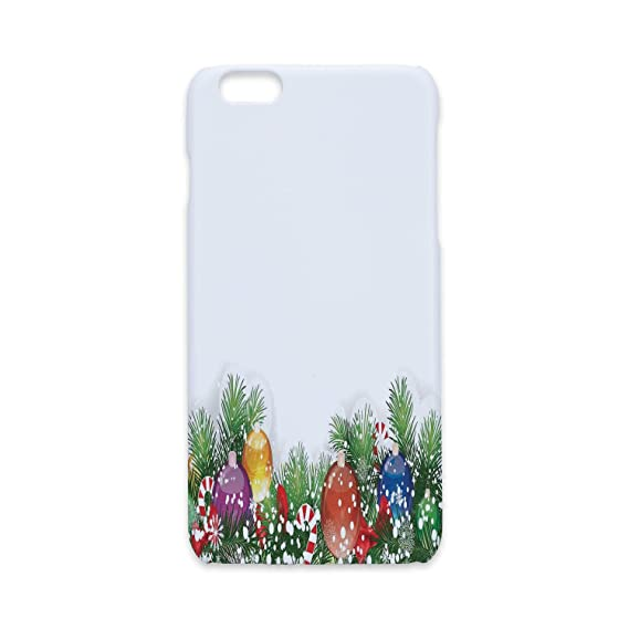 phone case compatible with iphone6 iphone6s 3d printchristmas decorationsholiday season office festive - Amazon White Christmas Decorations