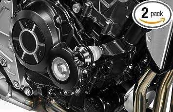 Hardware Fasteners Included De Pretto Moto Accessories DPM Race - Aluminium Crash Bar Pad Frame Sliders - 100/% Made in Italy Kit Engine Guard CB1000R 2018//19 R-0908