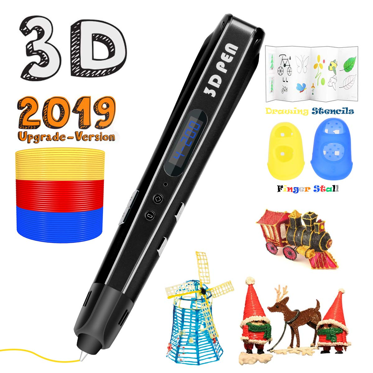 Uvital 3D Drawing Doodle Printer Pen