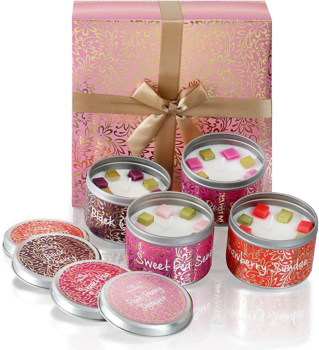 The Gift Box Gifts For Women Scented Candles Make And Presents For Her Ideal Christmas And Xmas Gifts Anniversary And Birthday Gifts For Her Perfect Present Moonspark Amazon Co Uk Kitchen Home