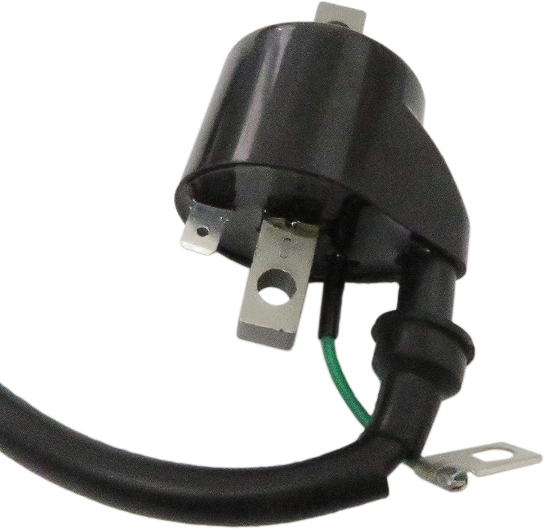 Spark Plug /& Ignition Coil Fit For Polaris Sportsman Predator ScramblerCoil 3084690 1995-30 500//425
