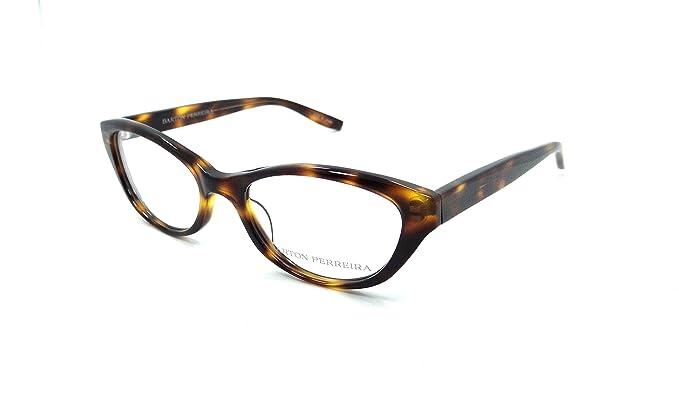 Amazon.com: Barton Perreira Sofia Eyeglasses Frames 50-18-135 ...