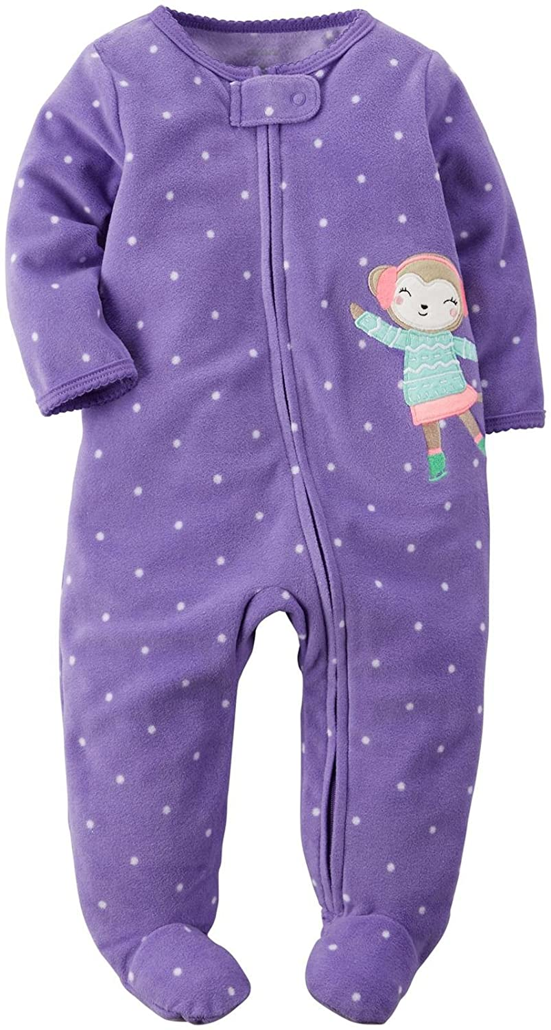 Carter's Baby Girls' Ice Dancer Footed Coverall Carter' s