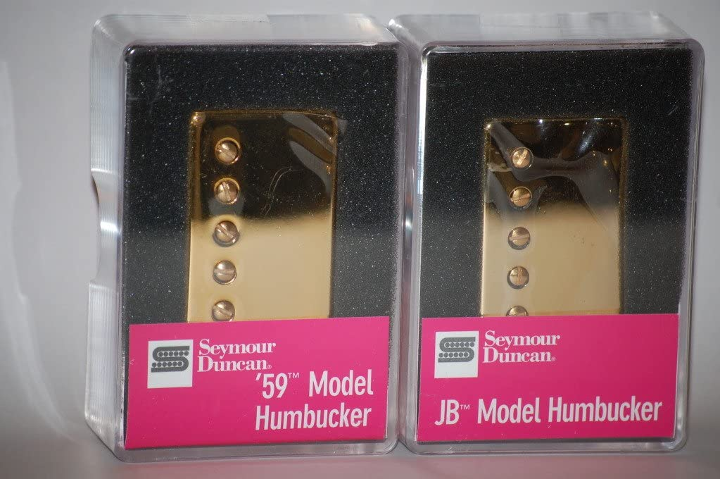 Seymour Duncan SH-4 JB SH-1N 59 Model ZEBRA 4 Conductor Humbucker Pickup Set