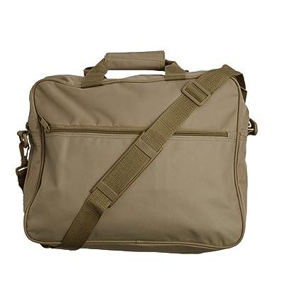 Bagiva Messenger Courier Bag/Briefcase Notebook MacBook Ultrabook Bag(Khaki,OS) good