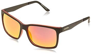 Alpina Sports Style Ranom Sonnenbrille, Blue Transparent, One Size