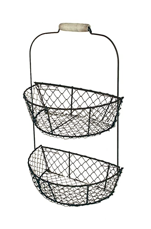 Amazon.com : Ohio Wholesale Chicken Wire Wall Basket, from our ...