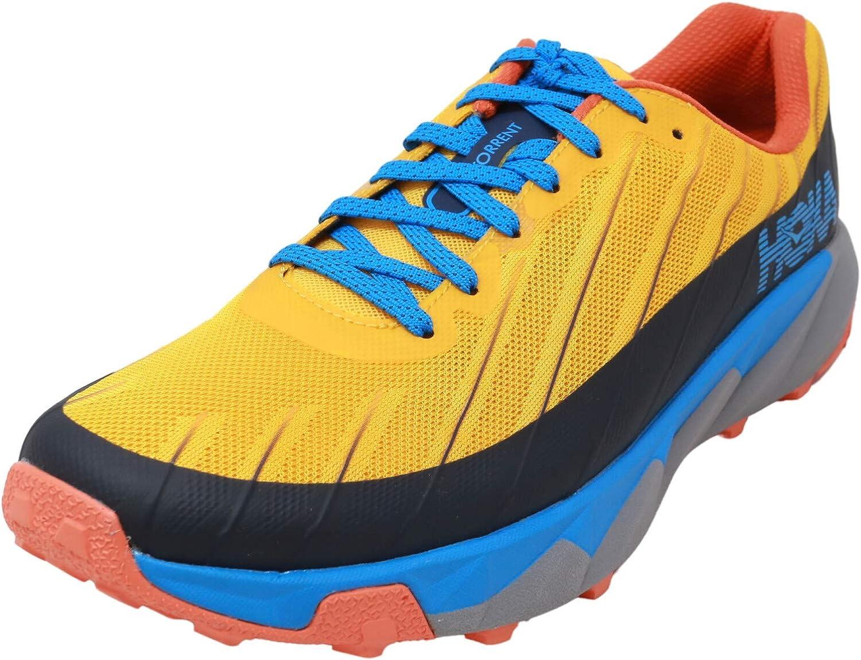 Zapatillas Trail Hoka Torrent Amarillo/Azul Talla 41 1/3: Amazon.es: Zapatos y complementos