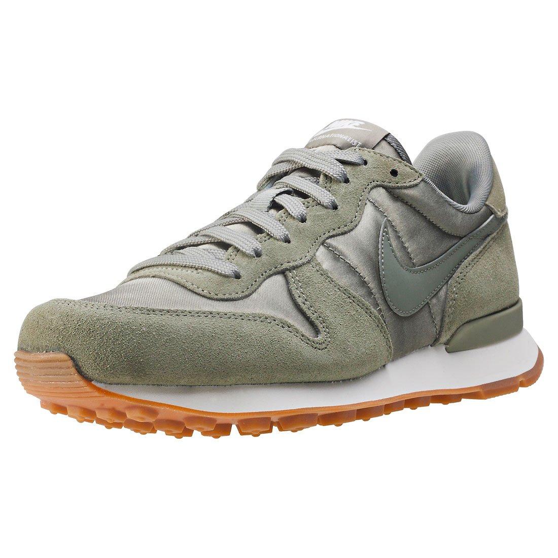 Nike Internationalist Womens Trainers Khaki - 4 UK: Amazon.co.uk ...