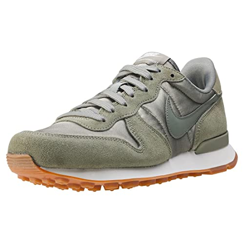 special for shoe sneakers for cheap great deals 2017 Nike Internationalist, Sandales Compensées Femme - Vert ...