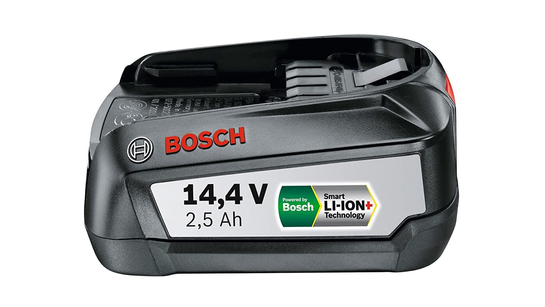 Lithium-Ionen, 2,5 Ah Bosch Wechsel-Akku PBA 14,4 Volt