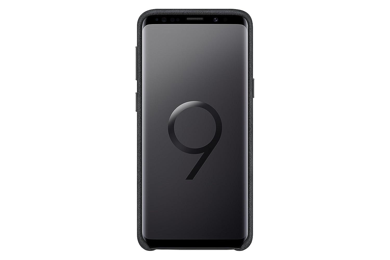 848c28d3bce Amazon.com: Samsung Galaxy S9 Alcantara Case, Black: Cell Phones &  Accessories