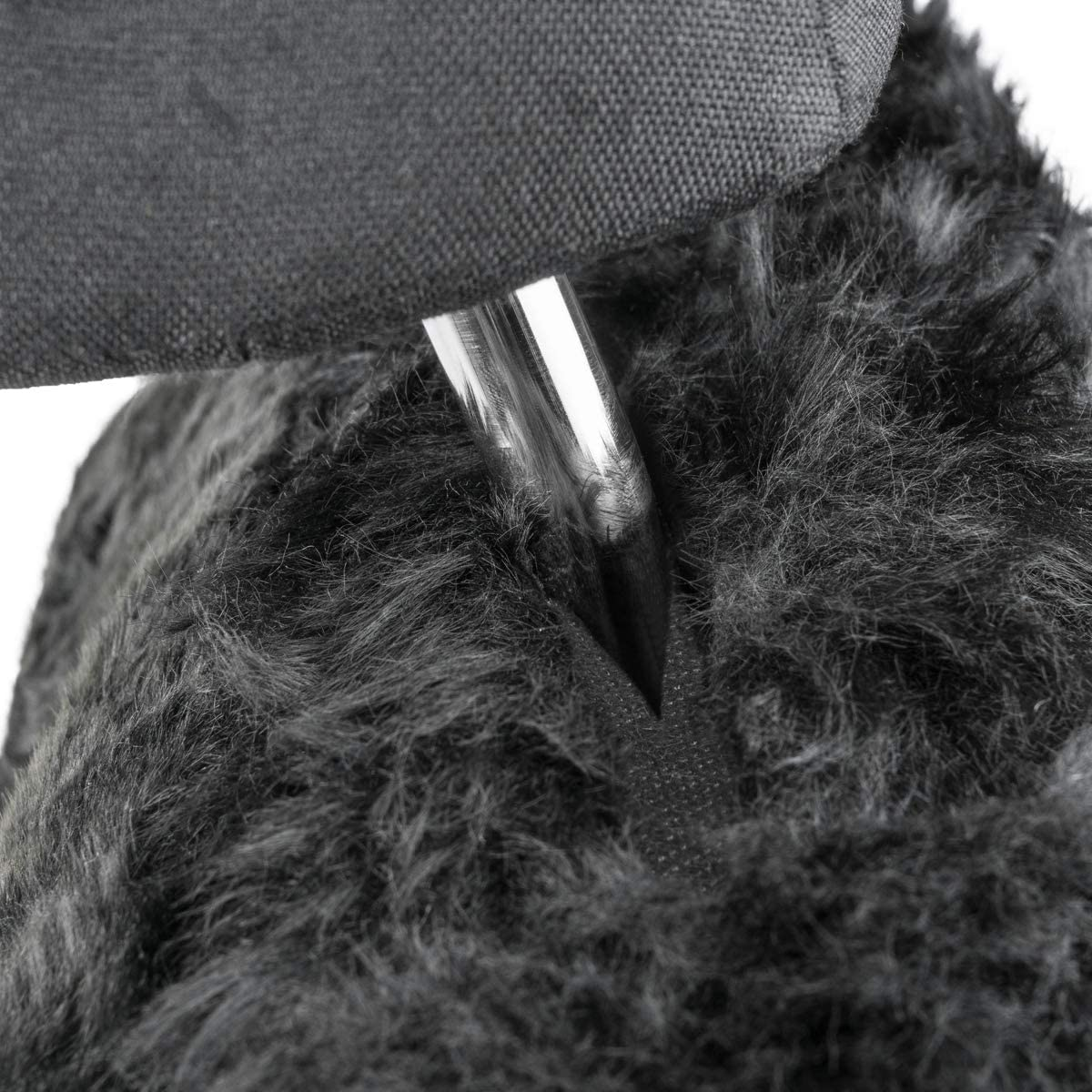 ABE sans Patchwork Housse compl/ète avec Licence g/én/érale dexploitation Taille Universelle Couleur Noire Housse dassise en Agneau Torrex/®