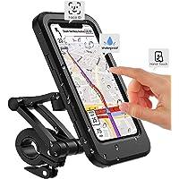 Fiets mobiele telefoonhouder motorfiets universele houder fiets waterdicht touchscreen met 360° draaibare outdoor…