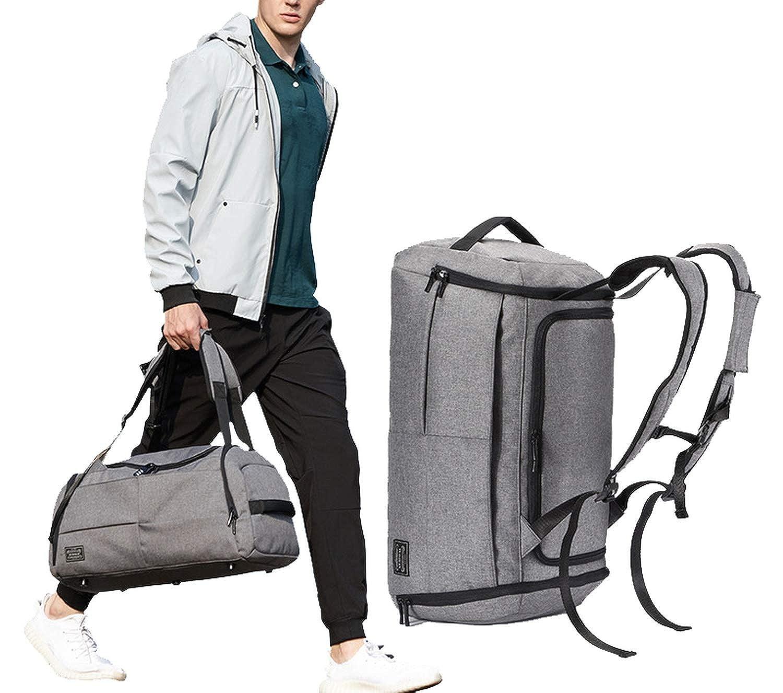 Hot Sale Terylene Men Sport Fitness Bag Multifunction Tote Gym Bags,black
