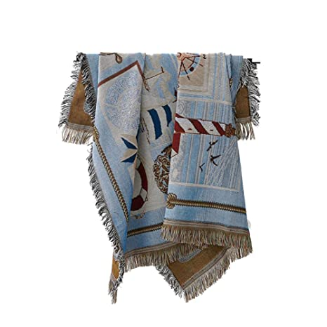 DSAQAO Manta sofá Toallas de Verano Tiro Completo Cubierta, Slipcover Polvo Cubierta Protectora Manta-