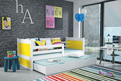 CAMA NIDO RICO 160/80 en color BLANCO + somier más 2 ...
