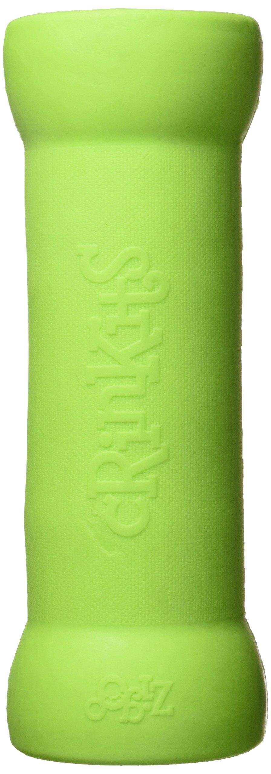 Crinkit Water Bottle Toy, 9-Inch, 16.9 oz, Green