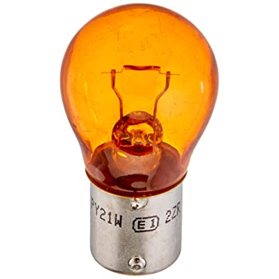 HELLA 7507TB Natural Amber-21W Standard Miniature 7507 Bulbs, 12V, 21W, 2 Pack: Automotive