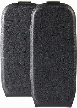 Imagen deFunda para Nokia 105 2017 de PU Cuero Leather con Ranuras para Tarjetas y Billetes Carcasa para Nokia 105 2017 de Excelente Resistencia y Parachoque.Cubierta Enrrollada Perfectamente al Móvil Negro