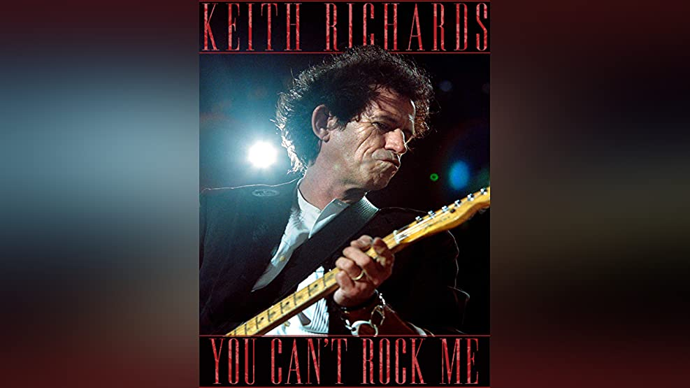 Keith Richards: Can't Rock Me