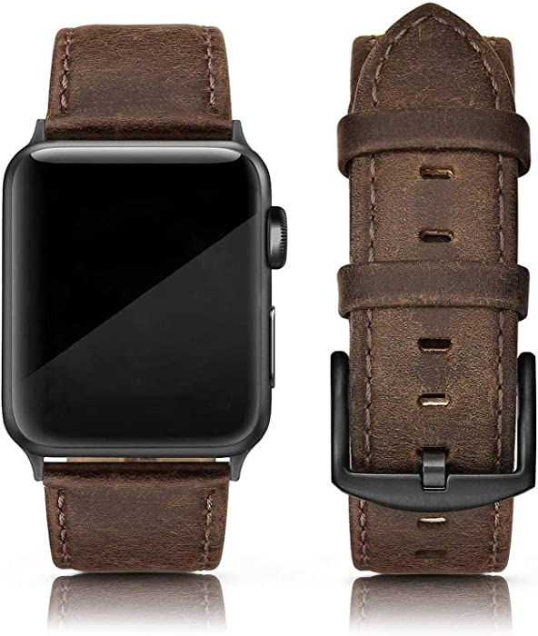 The Best Apple Watch 4 Leather Band For Men