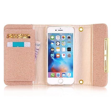 pretty nice f492c 2b341 Amazon.com: iPhone Xs MAX Wallet Case for Women,Miya Magnetic ...