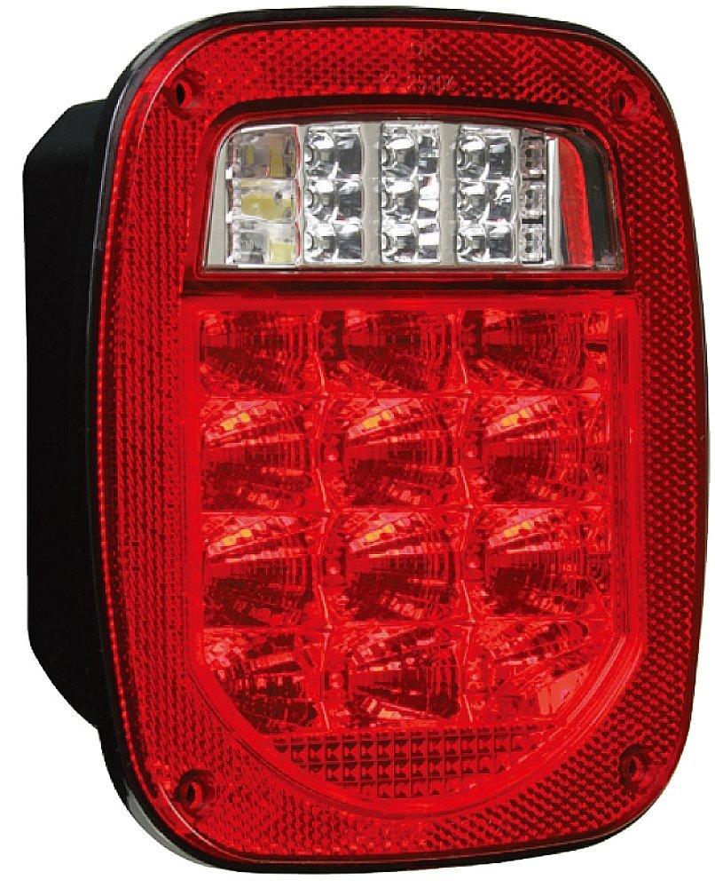Radiant KL-25117R Universal Stud-Mount Combination LED Tail Light