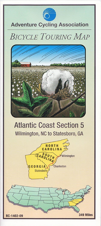 Download Bicycle Touring Map: Atlantic Coast #5 ebook