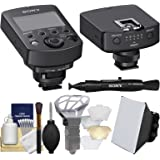 Sony FA-WRC1M Wireless Radio Commander with Radio Receiver + Soft Box + Diffuser Bouncer + Kit